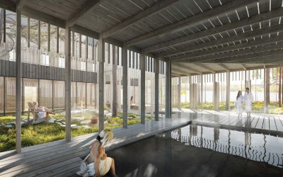 Open a new hotel in a forest spa by Lake Kivijärvi